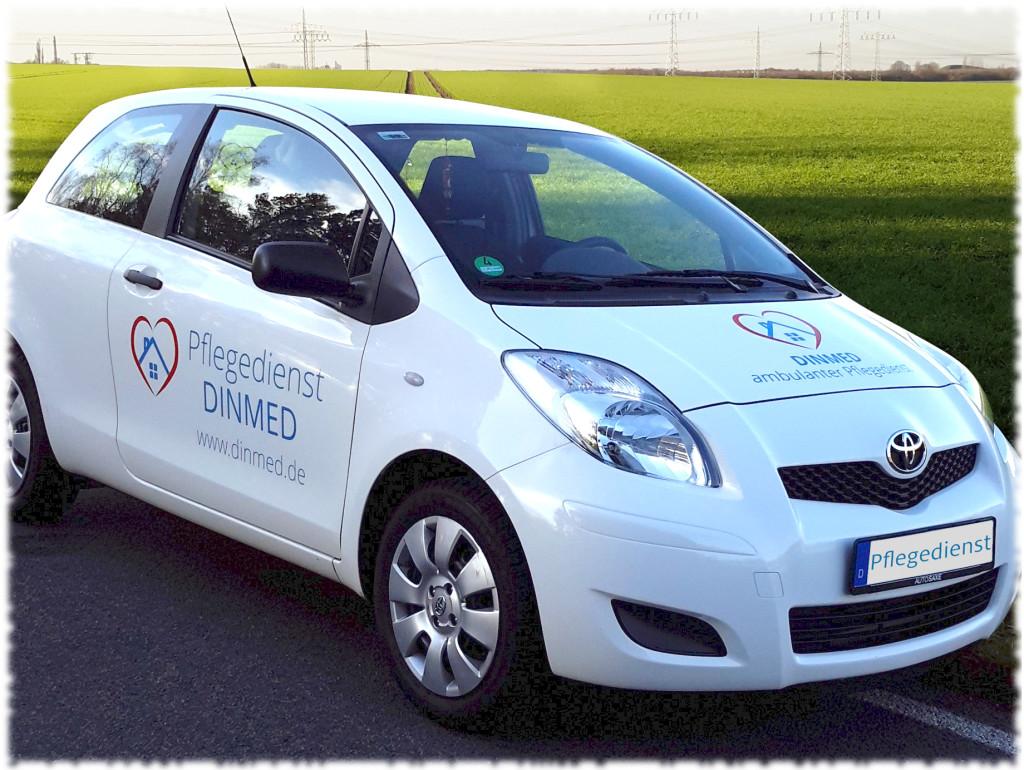 Bild Fahrzeug Pflegedienst